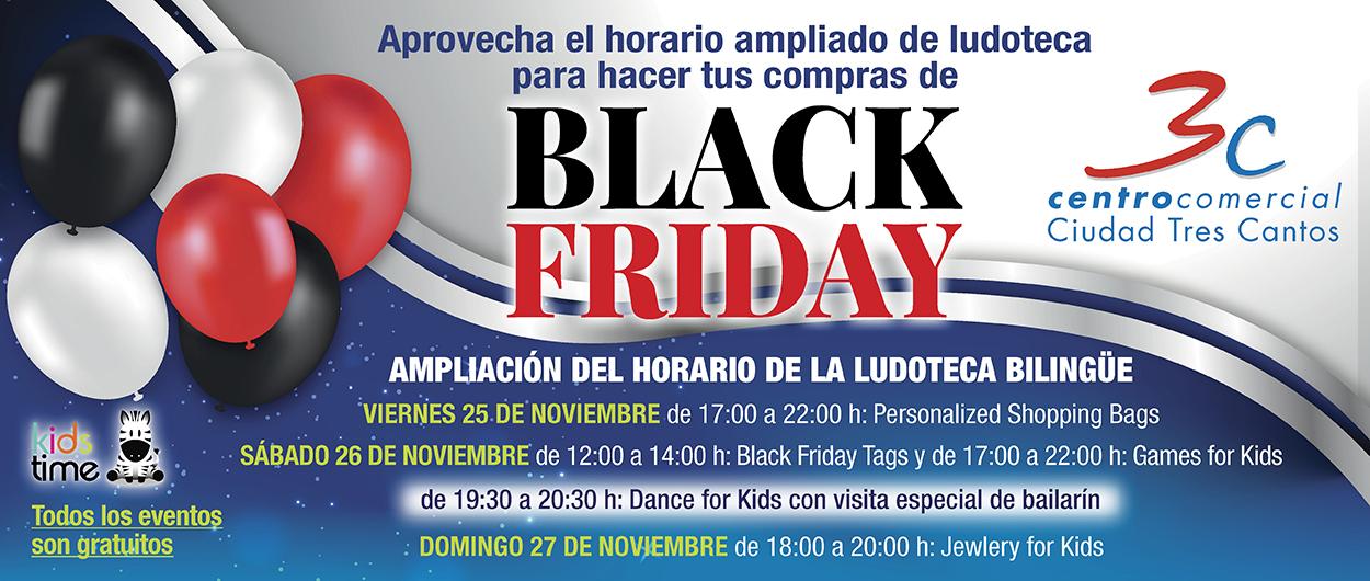 Ludoteca CC Tres Cantos Black Friday