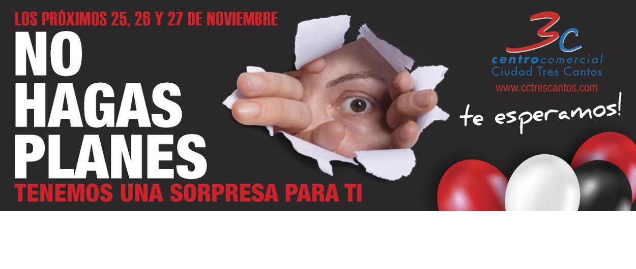 Black Friday Noviembre Centro Comercial Tres Cantos